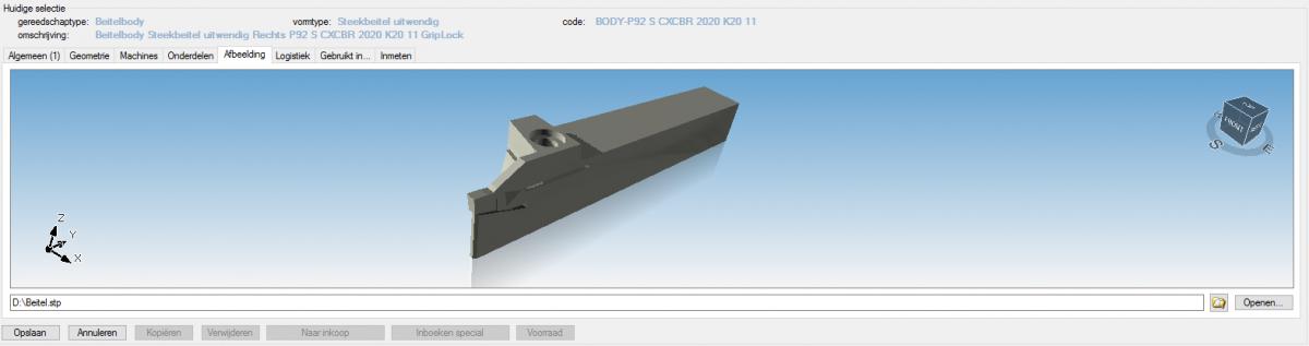 3D Beitel In APM+