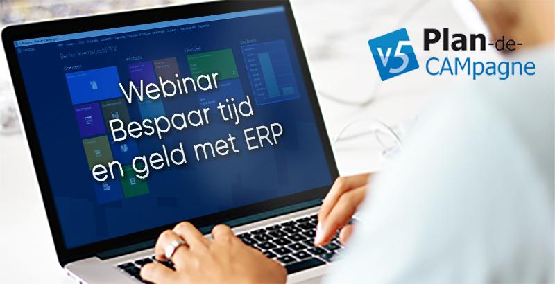 Bespaar tijd en geld met ERP