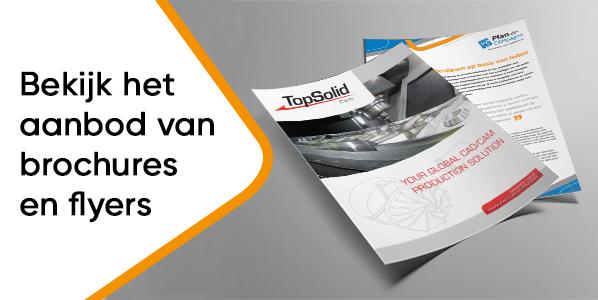 Bekijk het aanbod van brochures en flyers »
