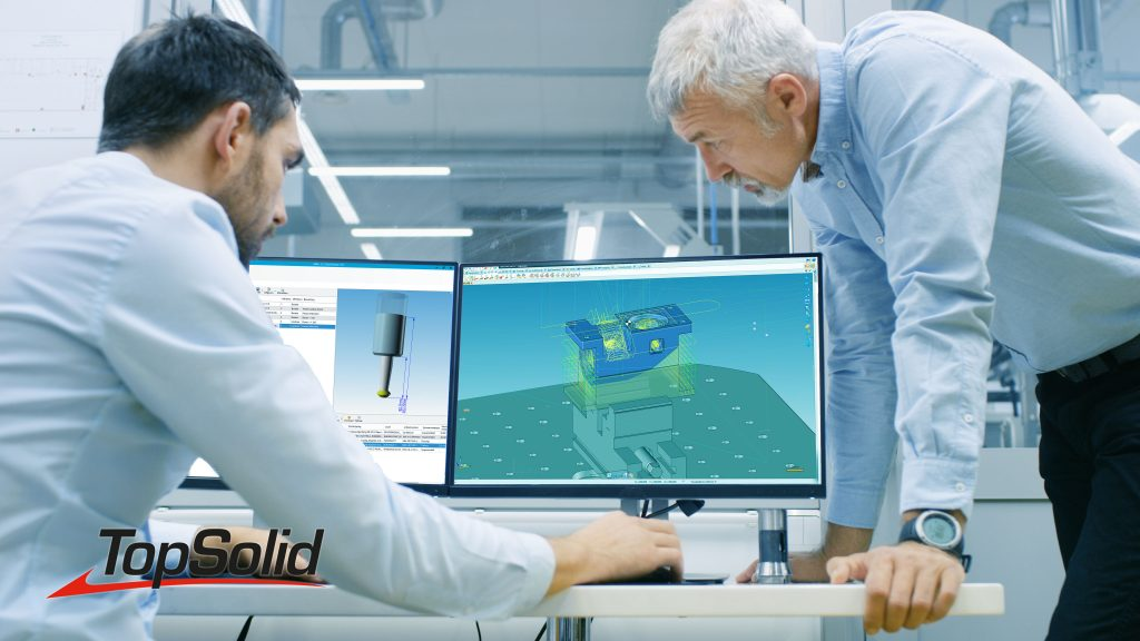 CAD CAM Optimale CNC Aansturing TopSolid