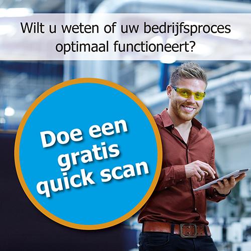 Doe een gratis guick scan