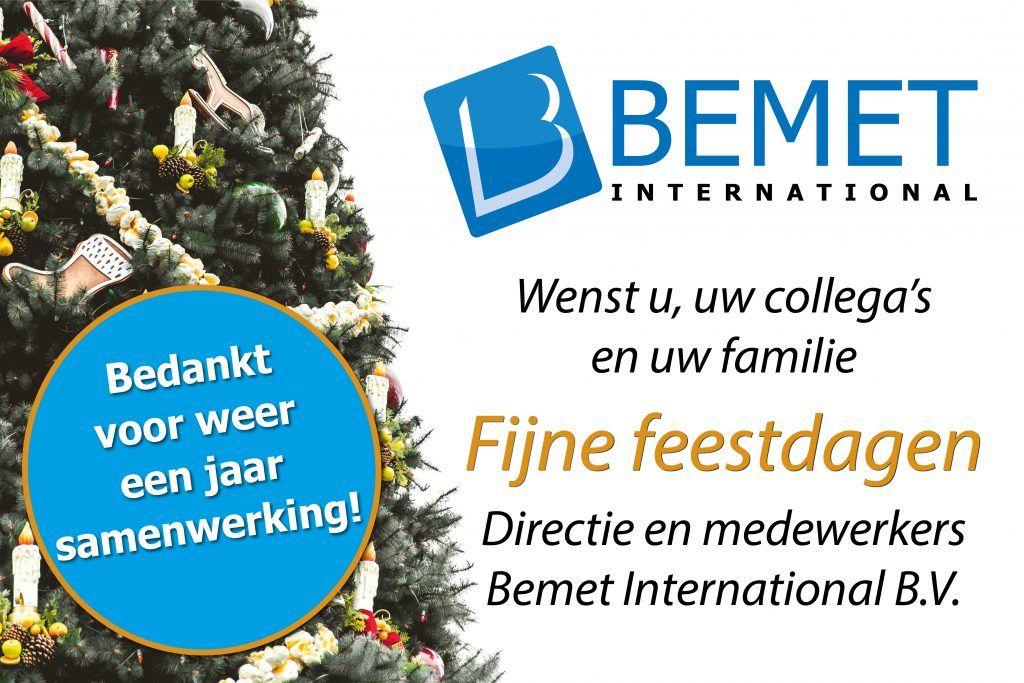 Kerstgroet Bemet International