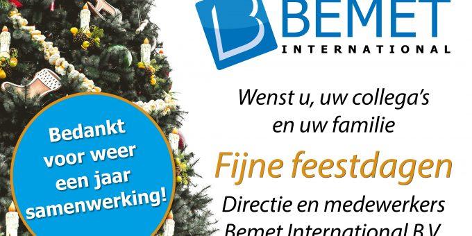 Kerstgroet Bemet International