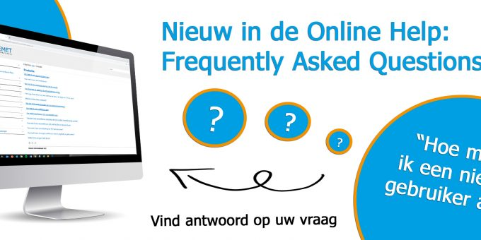 Nieuw in de Online Help: Frequently Asked Questions