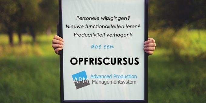 Opfriscursus APM+