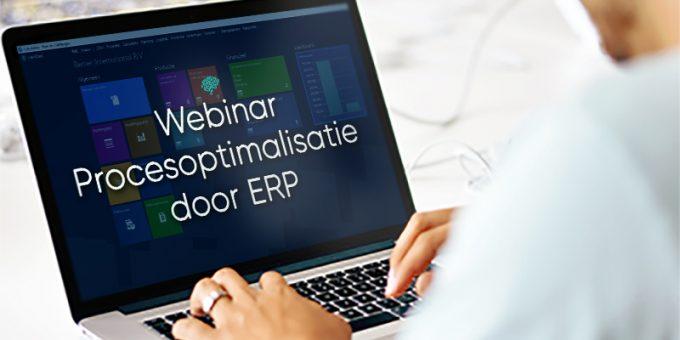 Webinar | Procesoptimalisatie door ERP 23 & 30 juni