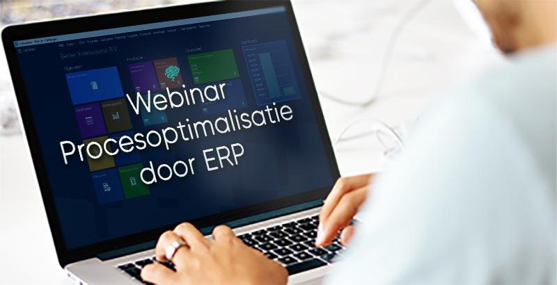 Webinar   Procesoptimalisatie door ERP 23 & 30 juni