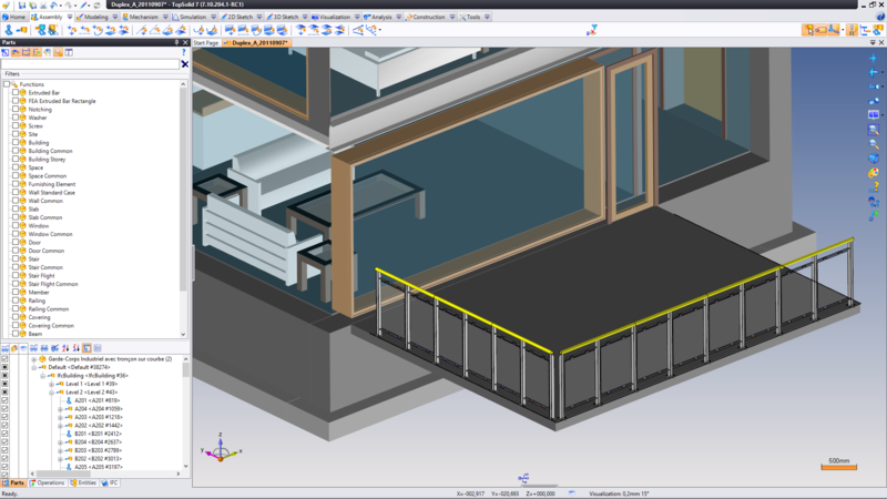 TopSolid'Wood BIM Building Information Model