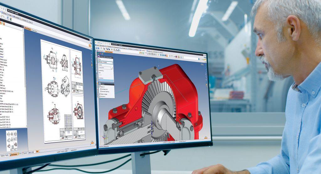 TopSolid'Design is een parametrisch hybride CAD-systeem.