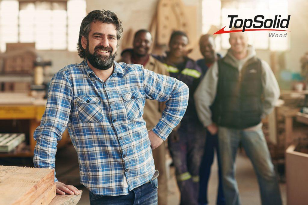 CAD/CAM voor hout- en interieurbouw | TopSolid'Wood training