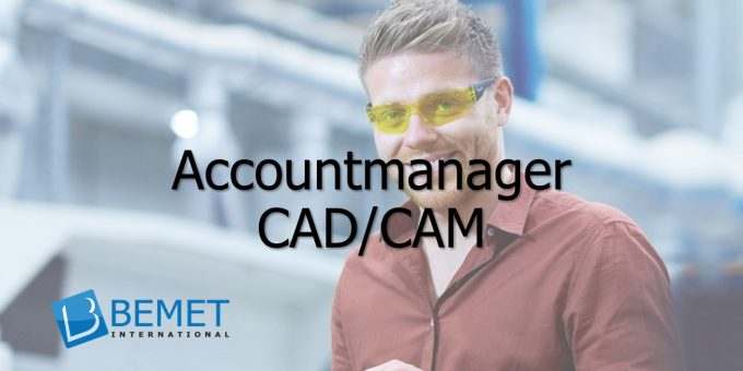 Bemet International zoekt een Accountmanager CAD/CAM TopSolid