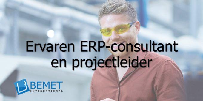 Bemet International zoekt een ervaren ERP-consultant en projectleider