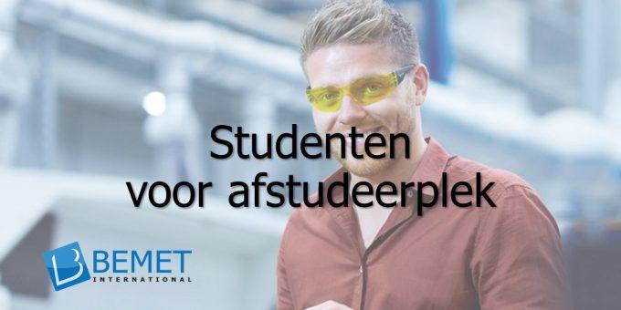 Bemet International zoekt studenten informatica voor afstudeerplek