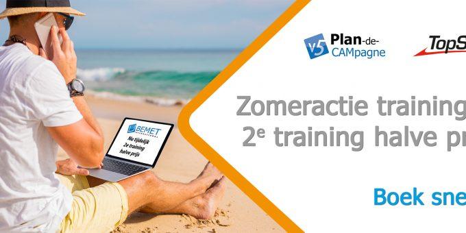 Zomeractie Bemet 2e training halve prijs - Boek snel!